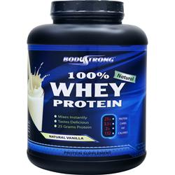 BODYSTRONG 	100% Whey Protein - Natural Vanilla 5 lbs