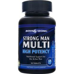 Bodystrong Strong Man Multi - High Potency - 90 tabs
