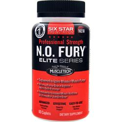 Six Star Pro Nutrition Professional Strength N.O. Fury Elite Series 60 cplts
