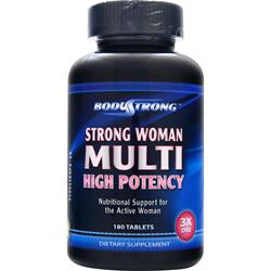 BODYSTRONG 	StroNG  Woman Multi - High Potency 180 Tablets