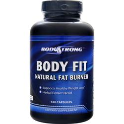 BODYSTRONG 	Body Fit - Natural Fat Burner 180 Capsules