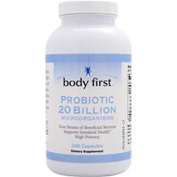 BODY FIRST 	Probiotic 20 Billion 240 Capsules