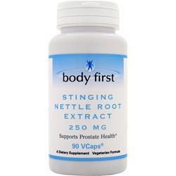 BODY FIRST 	ST inging Nettle Root Extract (250mg) 90 vCapsules
