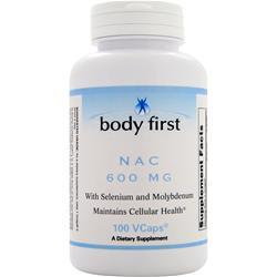 BODY FIRST 	NAC (600mg) 100 vCapsules