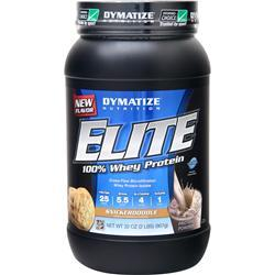 DYMATIZE NUTRITION Elite 100% Whey Protein Snickerdoodle 2 lbs
