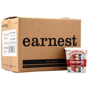Earnest Eats Earnest Eats Hot & Fit Cereal Cranberry + Almond + Flax 12 pack