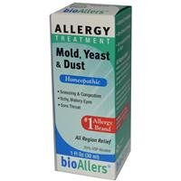 Bioallers Allergy Treatment - Mold, Yeast & Dust 1 fl.oz