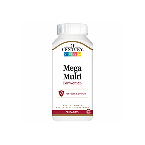 21st Century Mega Multi - For Women 90 tabs