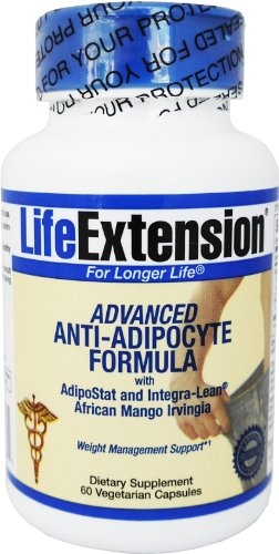 Life Extension Advanced Anti-Adipocyte Formula with AdipoStat and Integra-Lean 60 vcaps