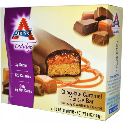 Atkins Endulge Bar Chocolate Caramel Mousse 5 bars