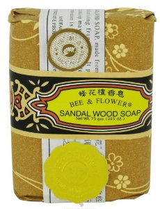 Bee And Flower Sandal Wood Soap 2.65 oz