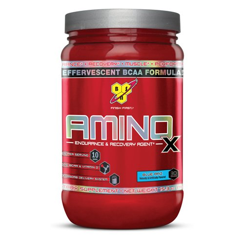 BSN Amino X - Endurance & Recovery Agent Blue Razz 435 grams