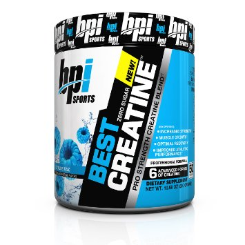 BPI Best Creatine Icy Blue Raz 300 grams