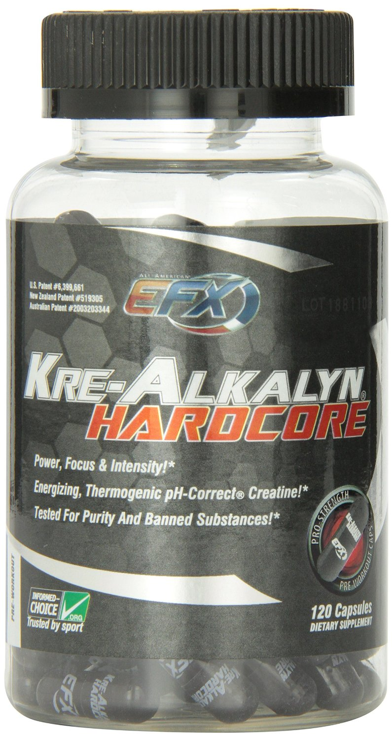 Kre-Alkalyn Hardcore 120 caps