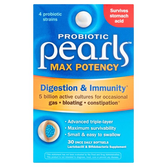 Enzymatic Therapy Probiotic Pearls - Max Potency 30 sgels