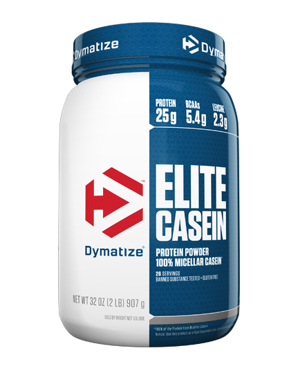 DYMATIZE NUTRITION Elite Casein Protein Rich Chocolate 2 lbs