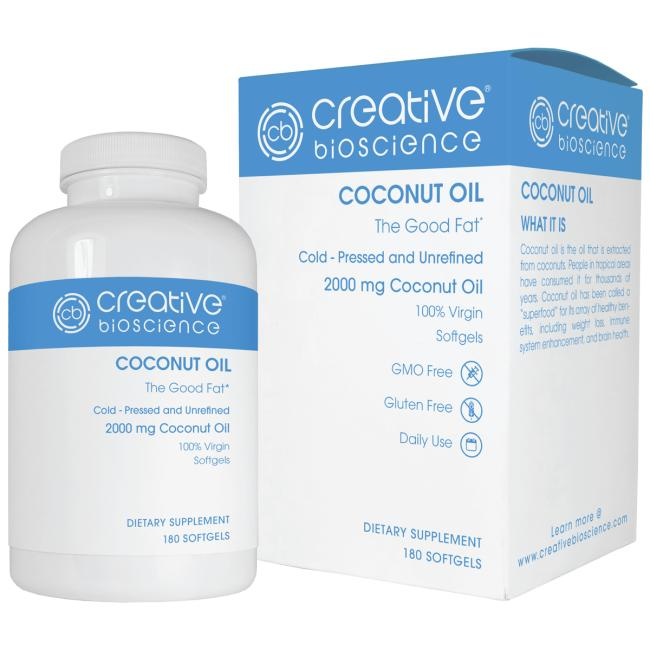 Coconut Oil (1000mg) 180 sgels