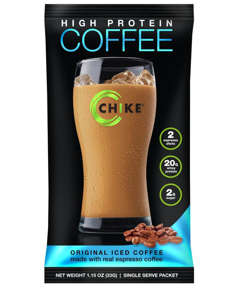 Chike Nutrition High Protein Coffee Original Iced Coffee 12 pckts