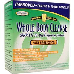 Enzymatic Therapy Whole Body Cleanse with Fiber Drink Mix - 1 kit