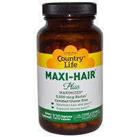 Country Life Maxi-Hair Plus 120 vcaps