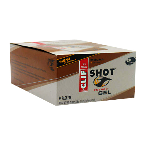 Clif Bar Clif Shot Mocha + Caffeine - 24 packets
