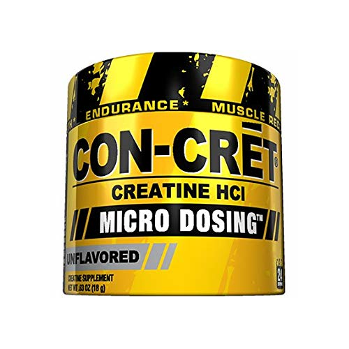 Con-Cret Creatine Micro-Dosing Powder Unflavored 48 grams