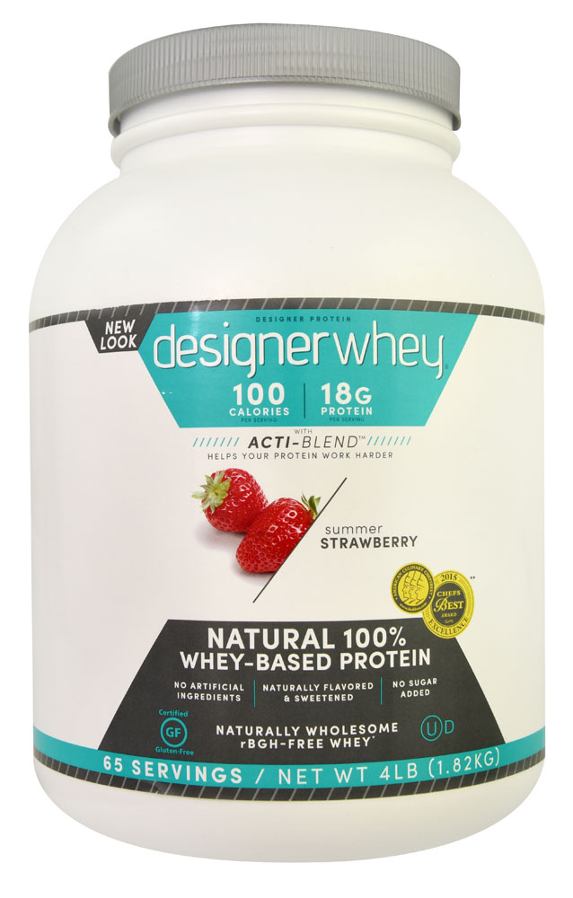 Designer Whey Protein Strawberry 2.1 lbs