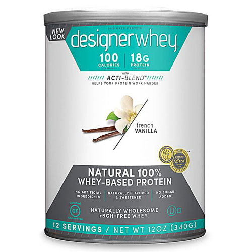 Designer Whey Protein Natural French Vanilla 12.7 oz - astronutrition.com