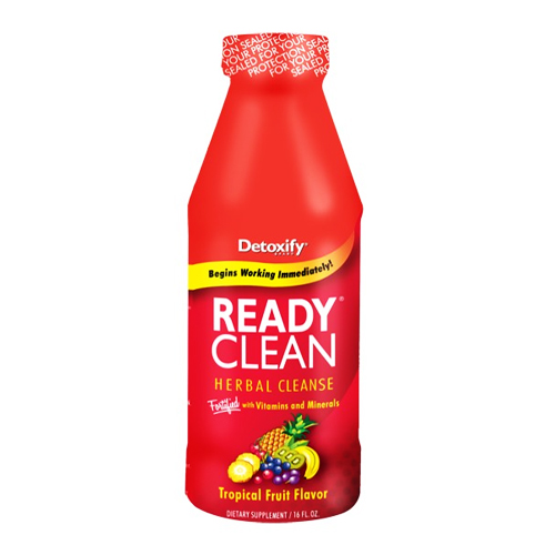 Detoxify Ready Clean - Herbal Cleanse Tropical Fruit - 16 fl.oz