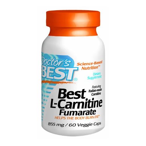 Doctor's Best Best L-Carnitine Fumarate - 885 mg 60 vcaps