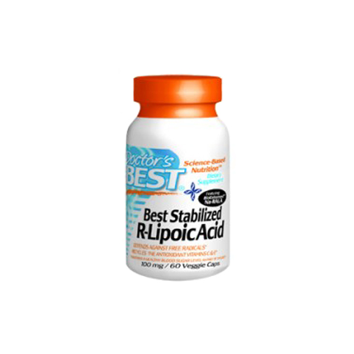 Doctor's Best Best Stabilized R-Lipoic Acid 100 mg 60 vcaps
