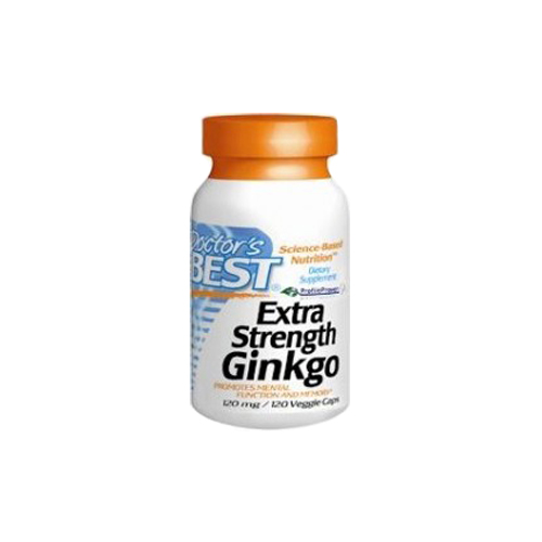 Doctor's Best Extra Strength Ginkgo - 120 mg 120 vcaps
