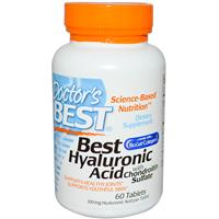 Doctor'S Best Best Hyaluronic Acid with Chondroitin Sulfate 60 tabs