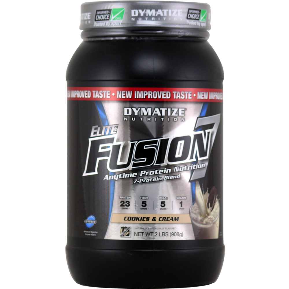 DYMATIZE NUTRITION Elite Fusion 7 Cookies & Cream 2 lbs