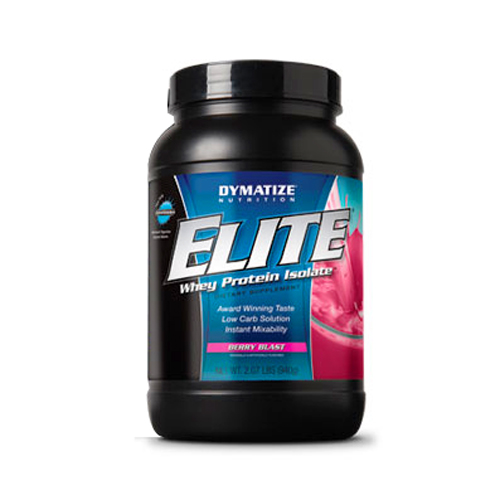 Dymatize Nutrition Elite Whey Protein Isolate Berry Blast - 2 lbs