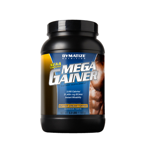 Dymatize Nutrition Mega Gainer Butter Cream Toffee - 3.3 lbs