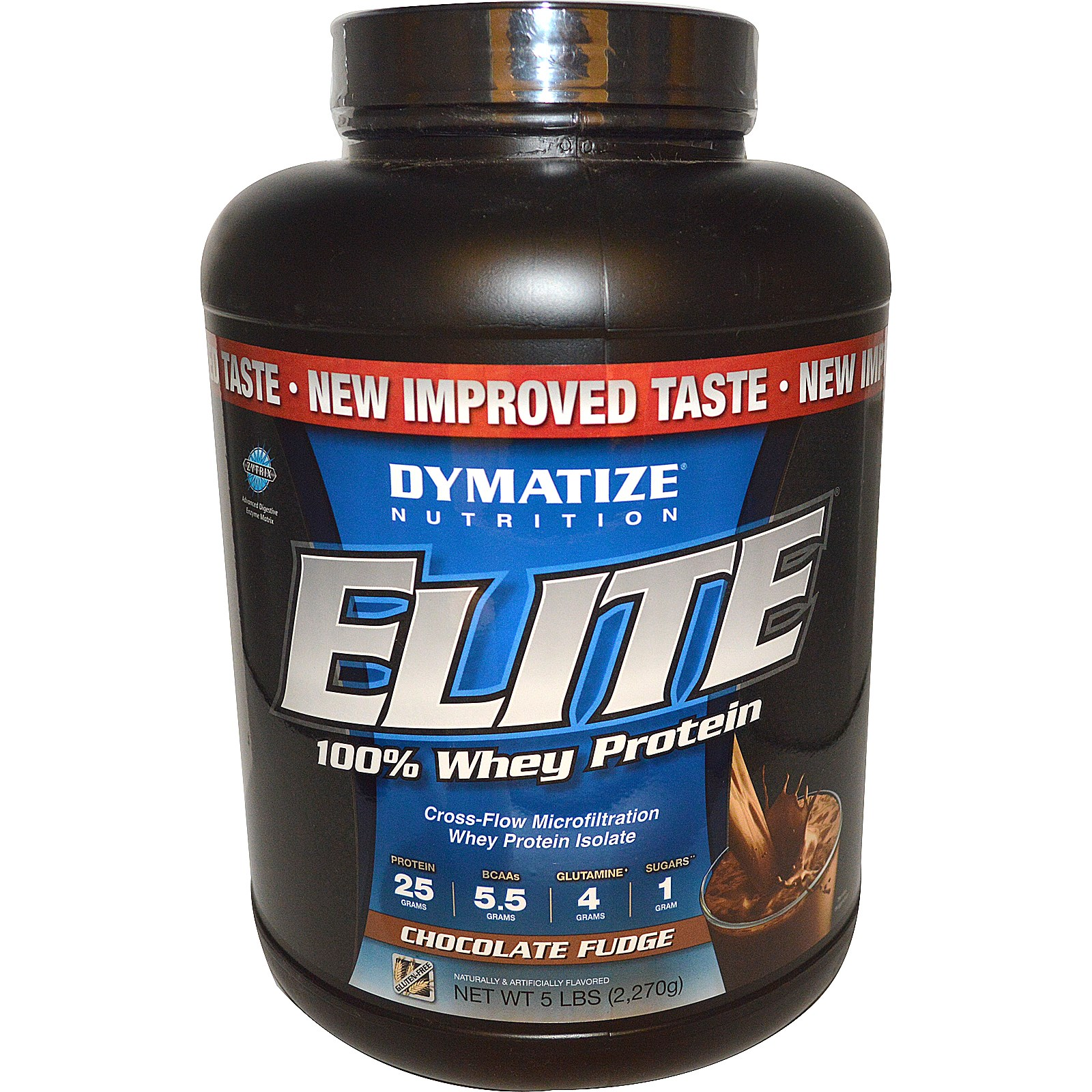 DYMATIZE NUTRITION Elite 100% Whey Protein Chocolate Fudge 2 lbs