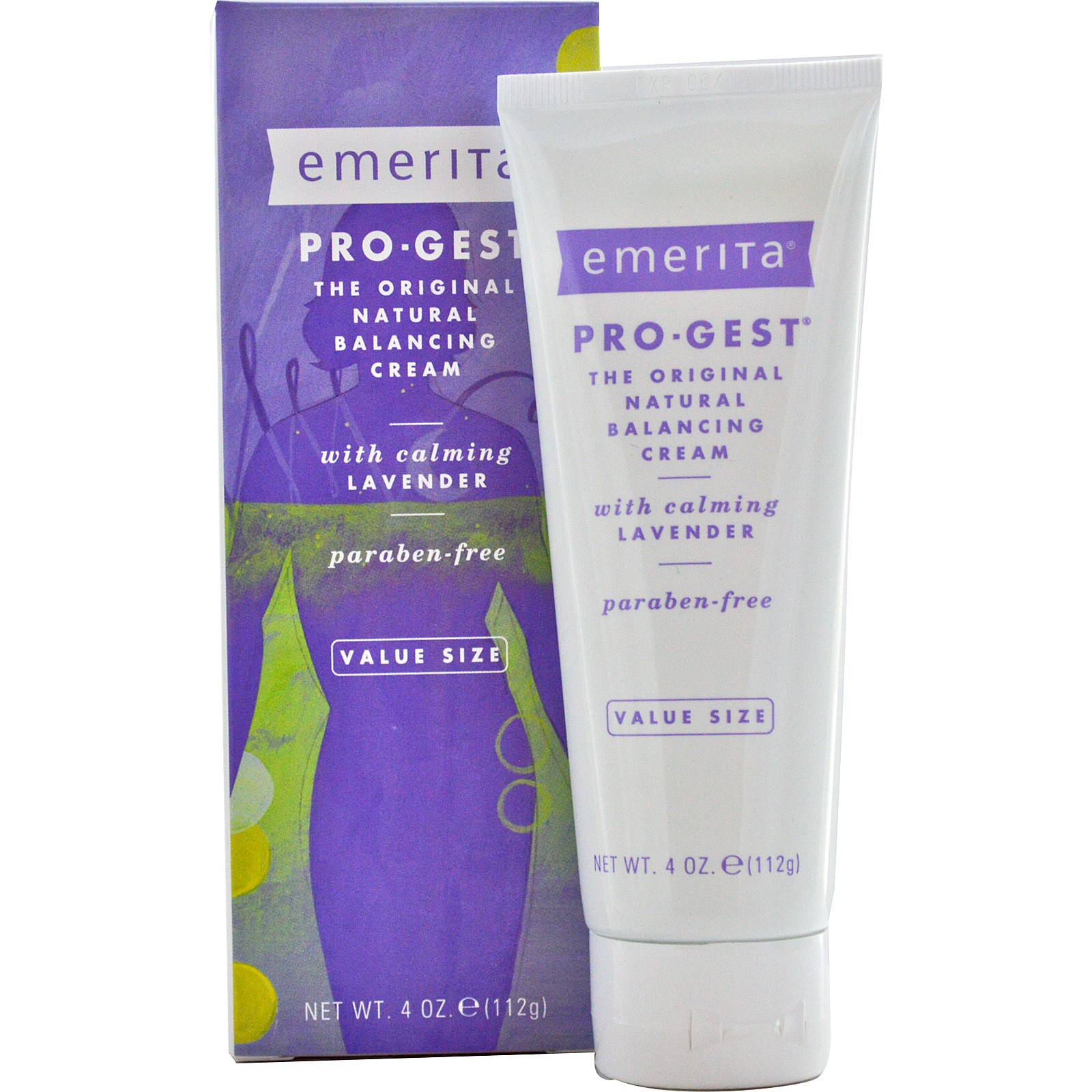 EMERITA Pro-Gest Balancing Cream with Calming Lavender 4 oz