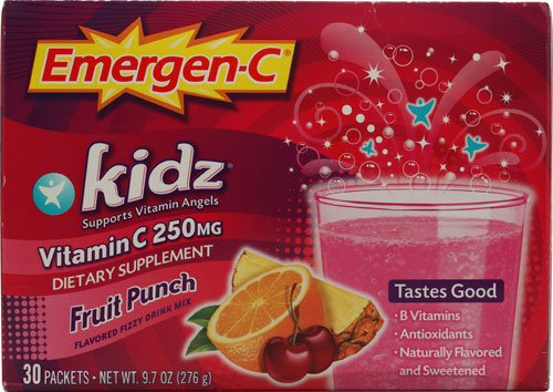 Emer'gen-C Kidz Fruit Punch 30 pckts