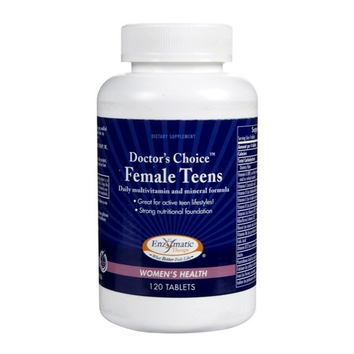 Enzymatic Therapy Doctor's Choice Female Teens 120 tabs