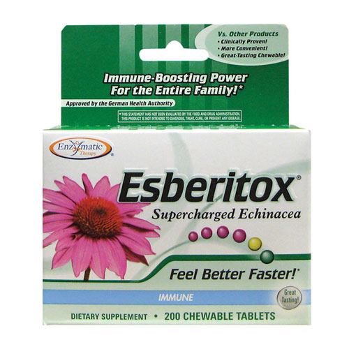 Enzymatic Therapy ® Esberitox - Supercharged Echinacea -  200 tabs