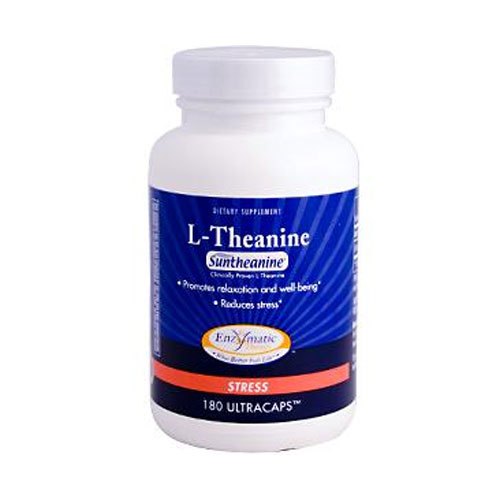 Enzymatic Therapy ® L-Theanine 180 caps