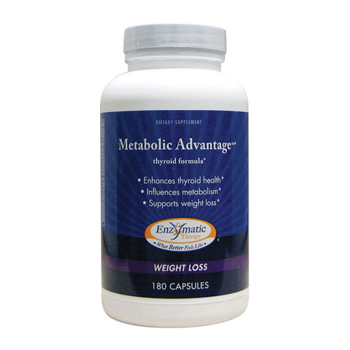 Enzymatic Therapy ® Metabolic Advantage 180 caps