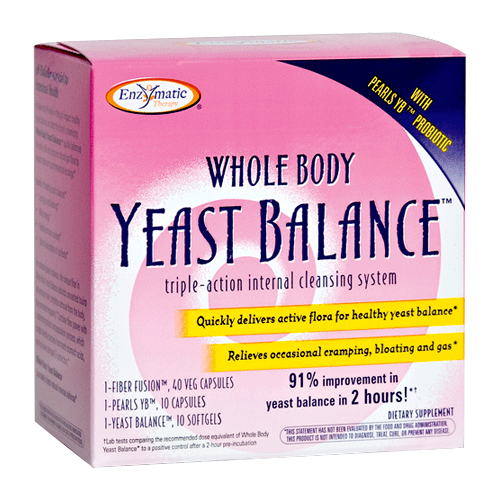 Enzymatic Therapy Whole Body Yeast Balance 1 kit