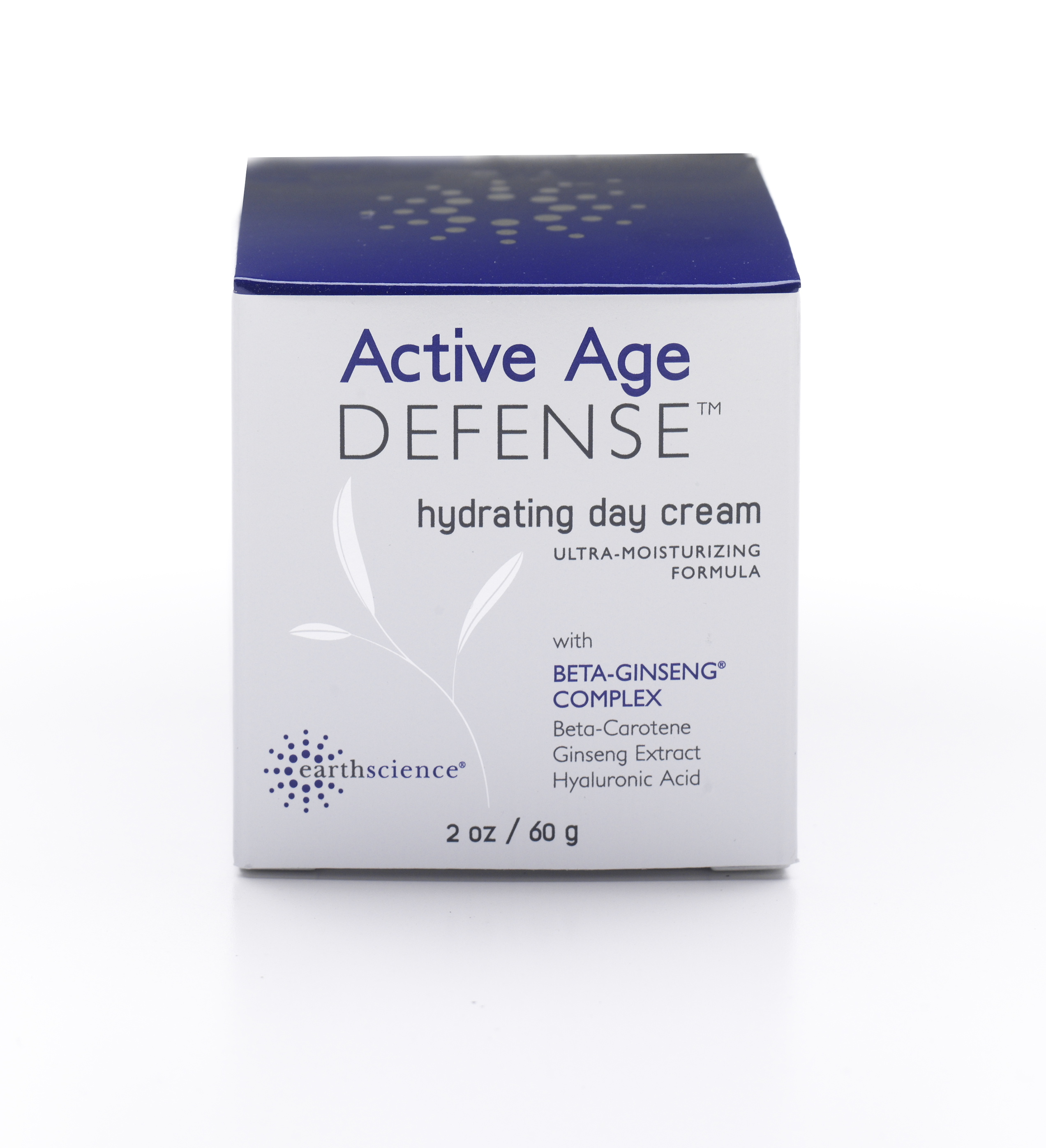 Earth Science Beta-Ginseng Hydrating Day Creme Age Defense - 2 oz
