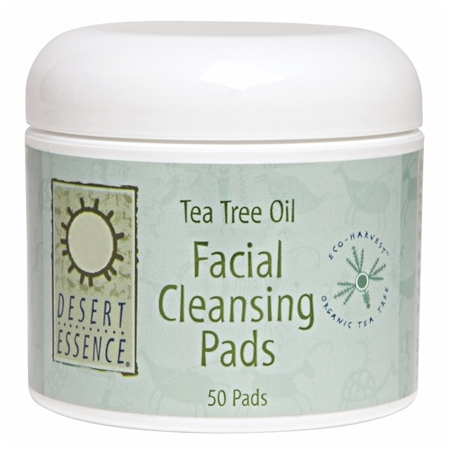 Facial Cleansing Pads - Eco-Harvest Tea Tree Oil