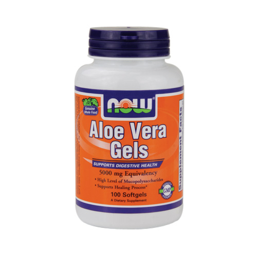 Now Aloe Vera Gels - 100 softgels