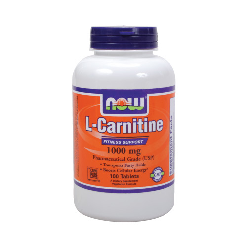 Now L-Carnitine - 1000 mg 100 tabs