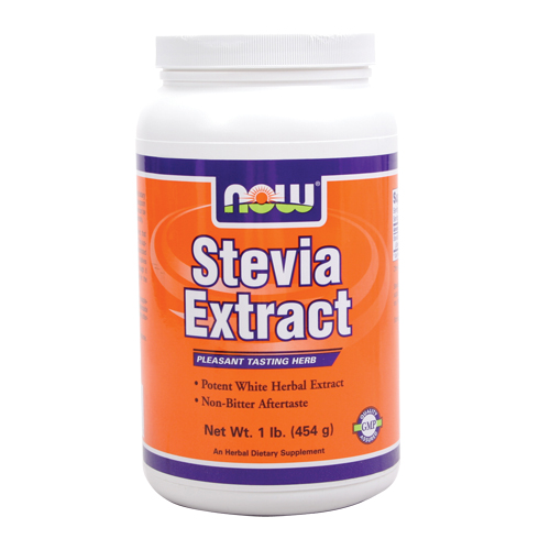 NOW Stevia Extract Powder 1 lbs
