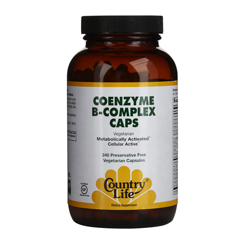 Country Life Coenzyme B-Complex - 240 vcaps